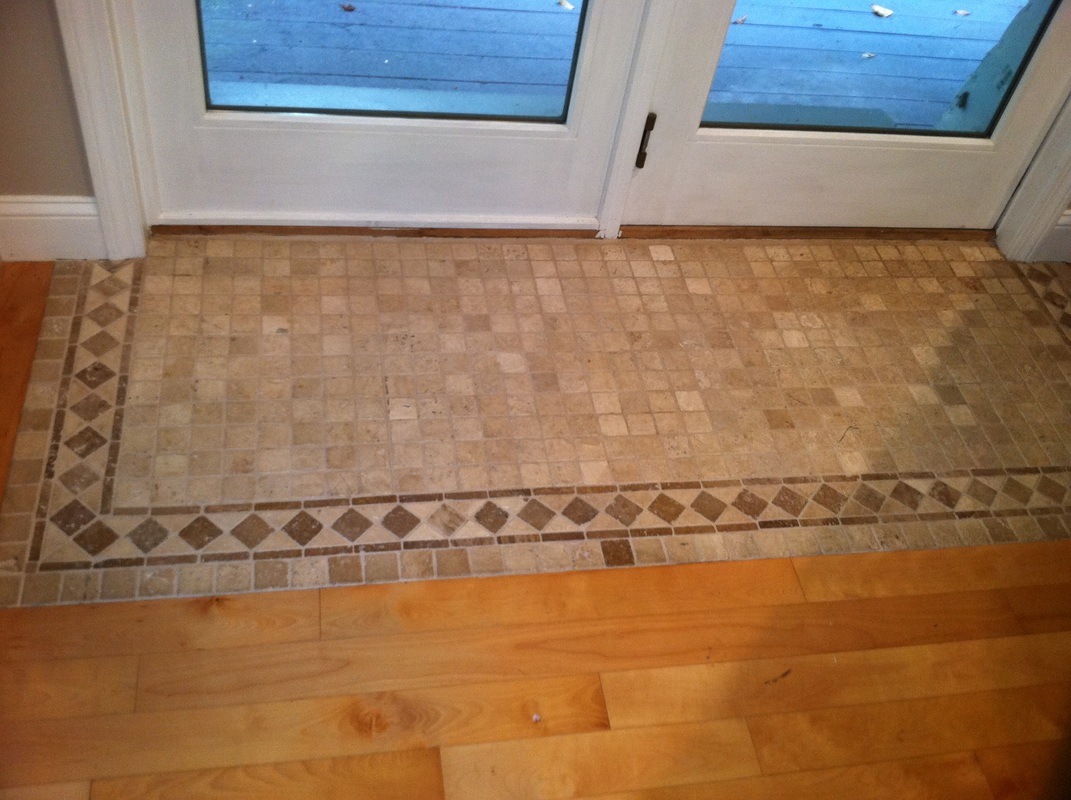 Custom tile ajm contracting anthony mascolino for In home flooring